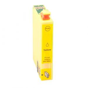 Inktcartridge / Alternatief voor Epson 502 XL geel   Epson Expression Home XP 5100/ XP 5105/ Workforce WF 2860 DWF; WF 2865 DWF; WF-2860DWF / WF-2865