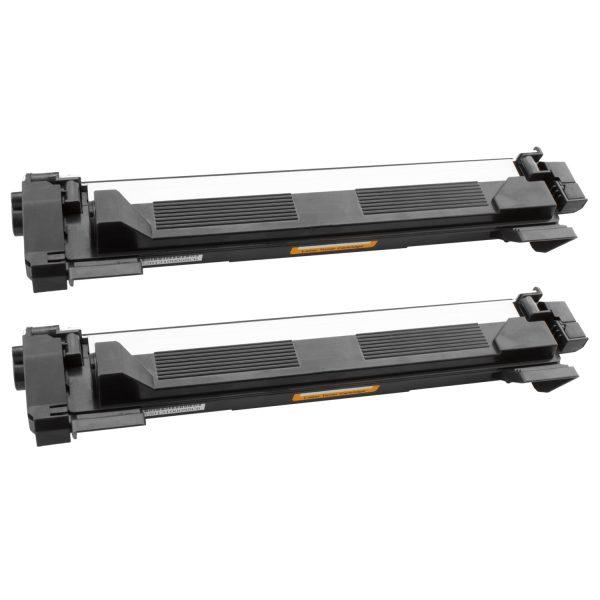 Tonercartridge / Alternatief Promo pakket 2 x Brother TN-1050 toner zwart | Brother DCP-1510/ DCP-1610W/ DCP-1612W/ HL-1110/ HL-1212W/ MFC-1810 Laser
