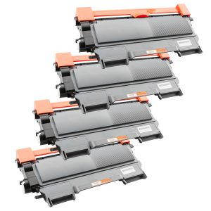 Activeje Tonercartridge / Alternatief t Promo Pakket Brother 4 x Toner TN-2220/TN-2210/TN-2010 | Brother DCP-7055/ DCP-7055W/ DCP-7057E/ DCP-7060D/ DC